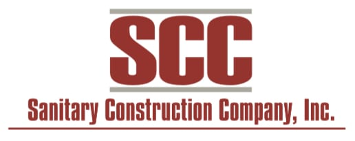 sanitary construction company logo